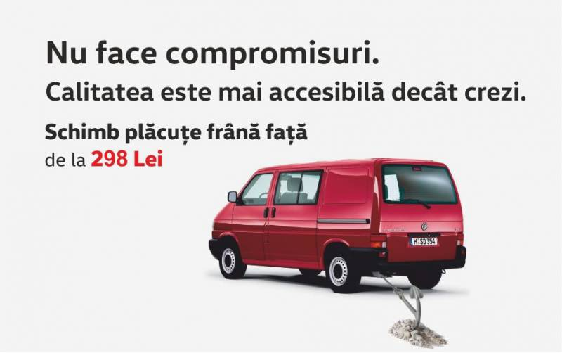 Profita de pachetele de Service Volkswagen Autovehicule Comerciale 8+
