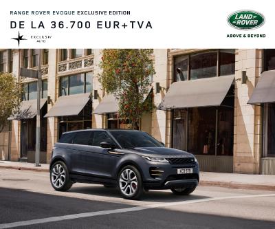 Oferta de pret Range Rover Evoque