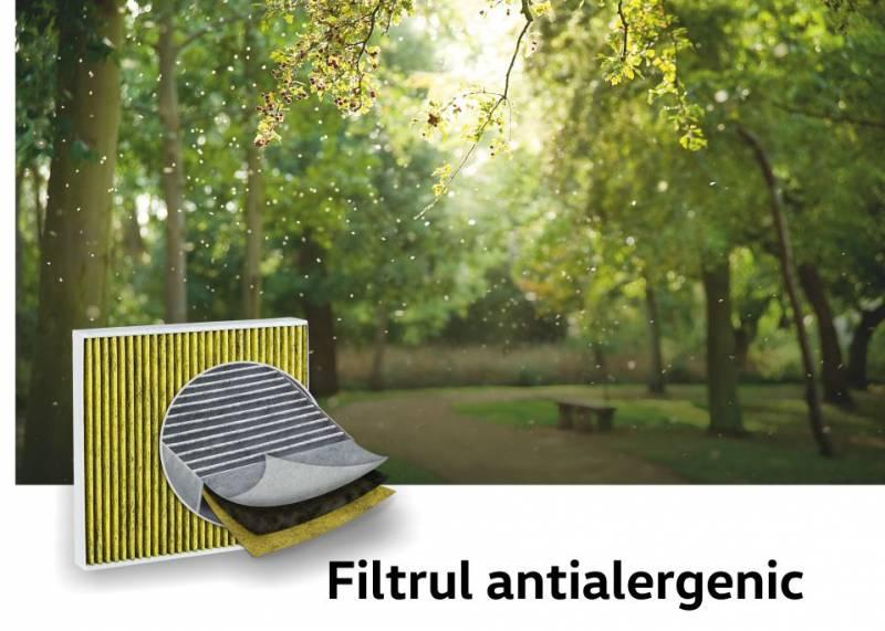 Filtrul antialergenic - Cea mai buna solutie impotriva alergenilor si a prafului fin.