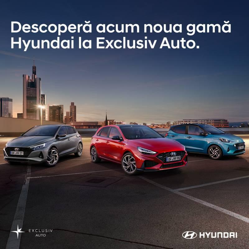 Descoperă gama Hyundai