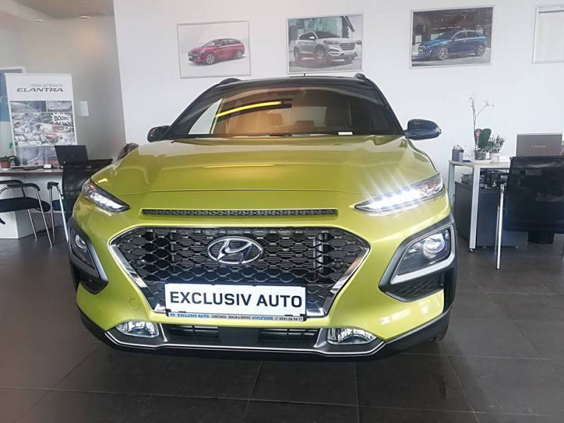 Indrazneste sa fii diferit - profita de oferta Hyundai Kona