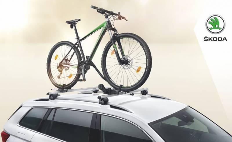 Oferta lunii la Skoda: Suport bicicleta