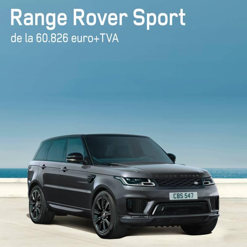 RANGE ROVER SPORT, de la 60.826 euro +TVA