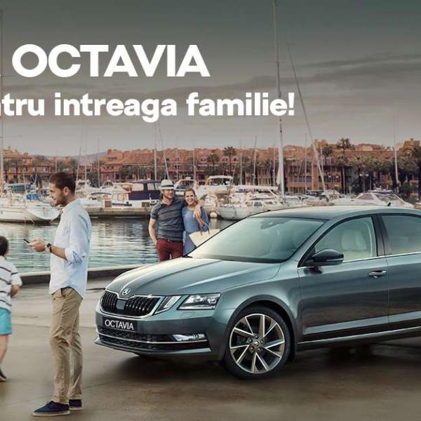 Profita de oferta Skoda Octavia