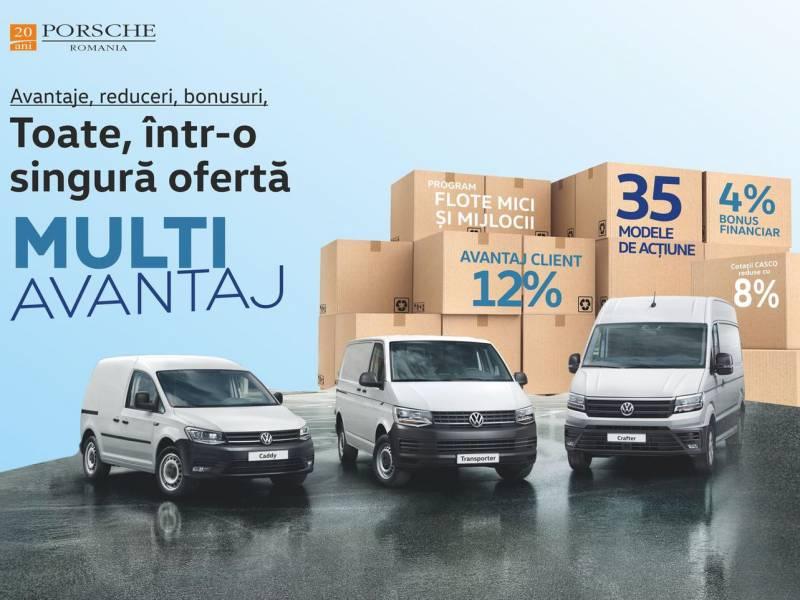 Volkswagen Autovehicule Comerciale - Multi Avantaj