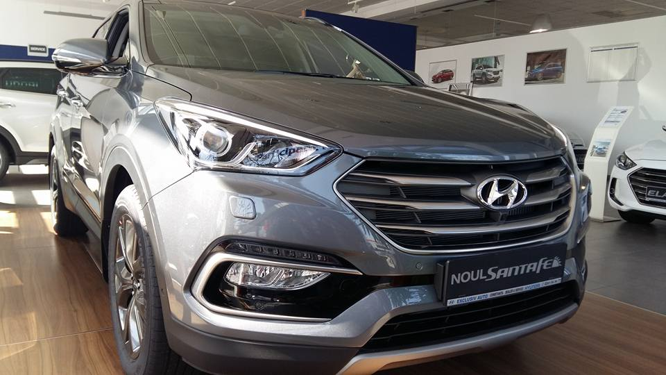 NEW SANTA FE 2.2 CRDi 200CP DPF 4WD AT LUXURY PACK